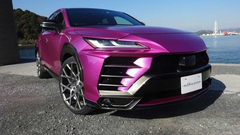 Этот обвес может сделать автомобиль Toyota Venza похожим на Lamborghini Urus