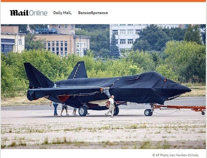 Читатели Daily Mail: посмотрите на новый русский истребитель в действии — и вам будет не до смеха