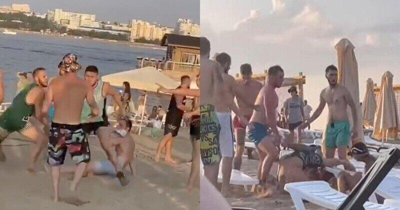 Девушек не поделили: мальчишник в Самаре на пляже закончился массовым побоищем