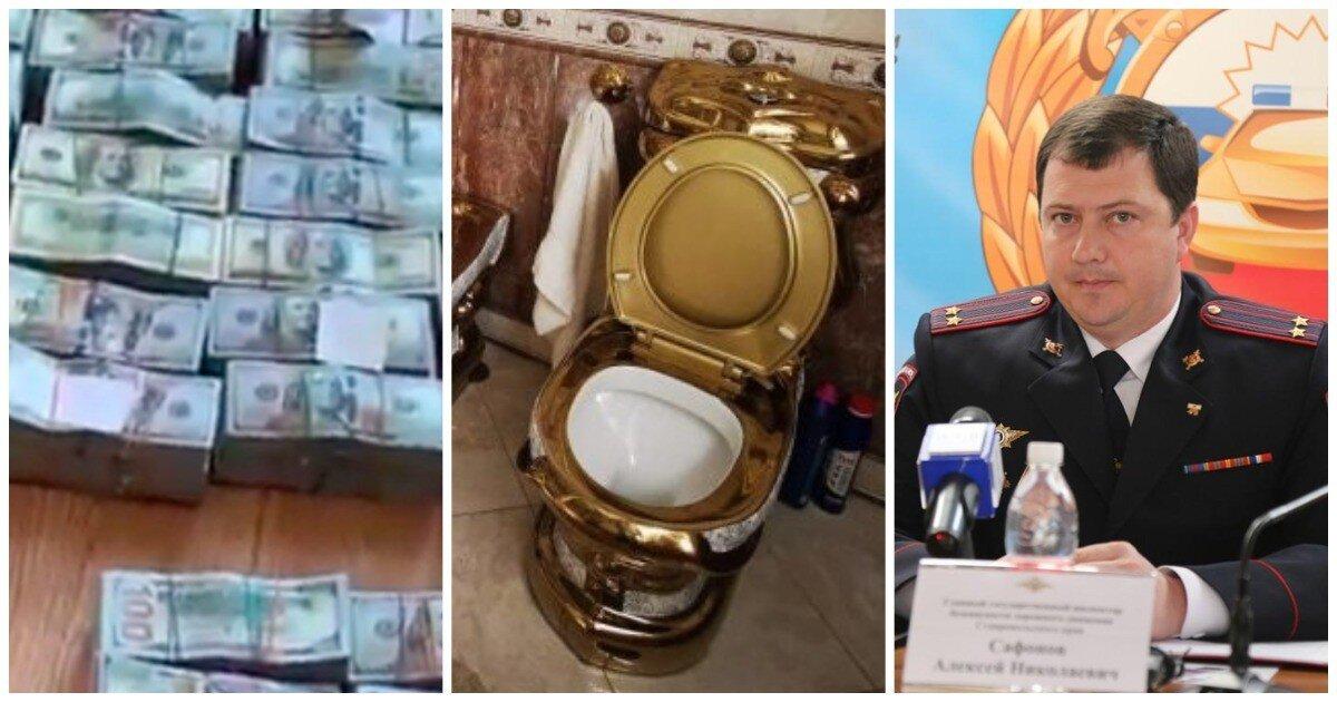 У подчиненного главы ставропольского ГИБДД нашли пачки долларов