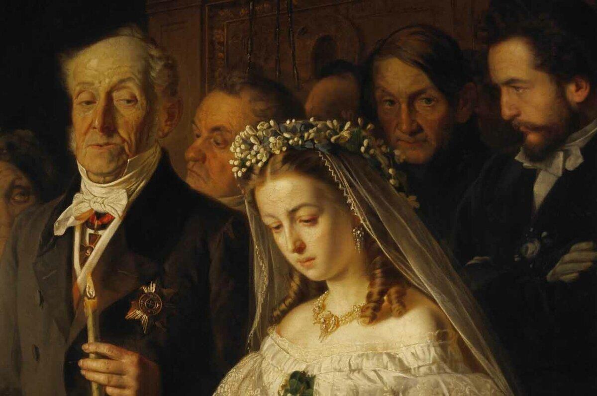 Была ли реальная жизненная драма за картиной «Неравный брак»