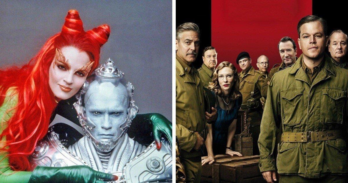 Фильмы с мощным подбором актёров, которые не спасли ситуацию