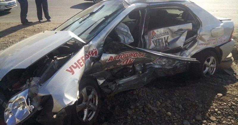 Авария дня. Попавший в ДТП водитель «учебного» автомобиля скончался