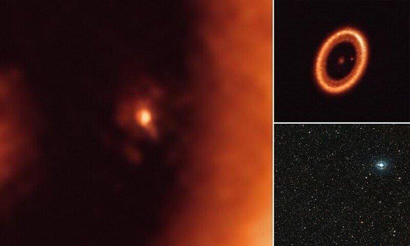 Астрономы нашли в глубоком космосе рождающуюся луну