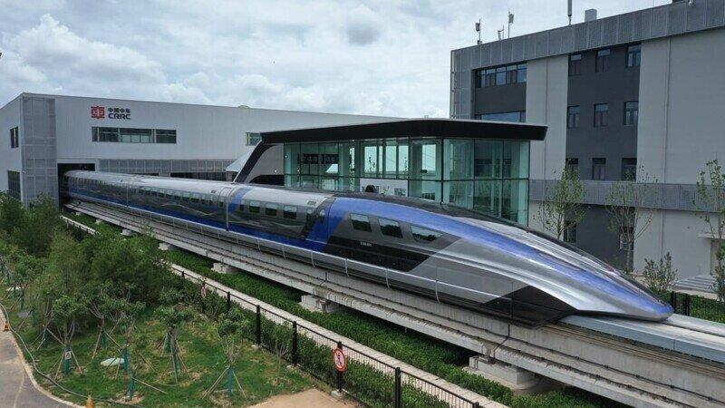Китайский MAGLEV уже готов разогнаться быстрее 600 км/ч