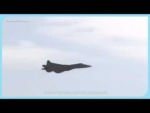 Удивительный пилотаж СУ-57 на МАКС-2021. Пятое поколение в действии!