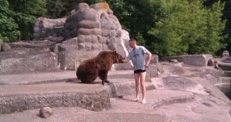 Старинная польская забава - утопи медведя