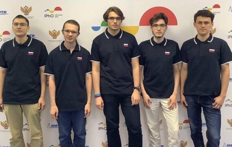 Сборная России одержала победу на Международной Олимпиаде по физике
