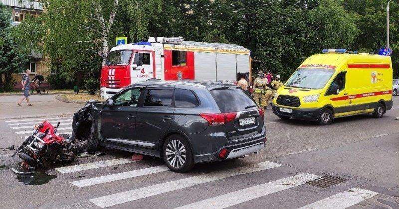 Авария дня. Молодой мотоциклист разбился в Нижегородской области