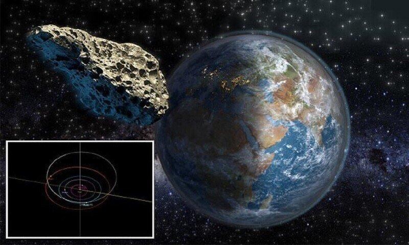 К Земле приближается астероид размером с египетскую пирамиду