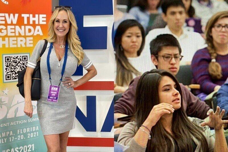 Американскую порнозвезду не пустили на заседание партии, на которой обсуждали вопросы семьи