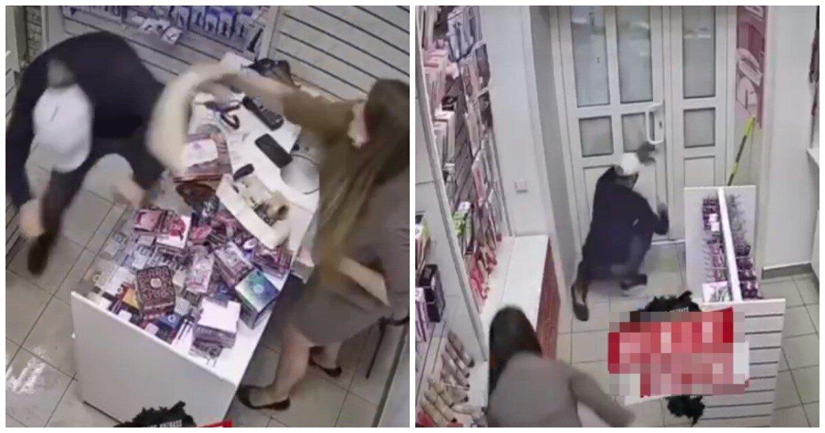 Продавщица секс-шопа в Новокузнецке отбилась от грабителя огромным фаллоимитатором