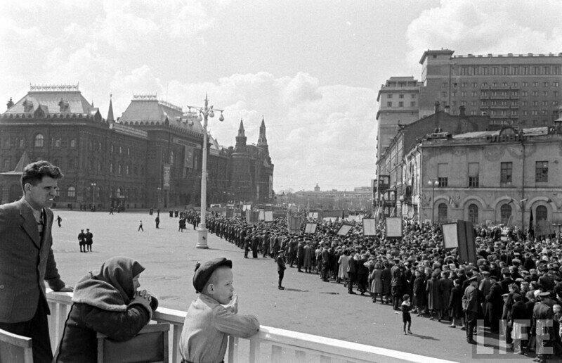 Москва 1947 года, фотографии из журнала Life