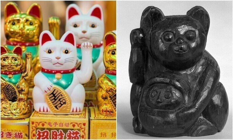 Любопытные факты о манэки-нэко - японском символе удачи