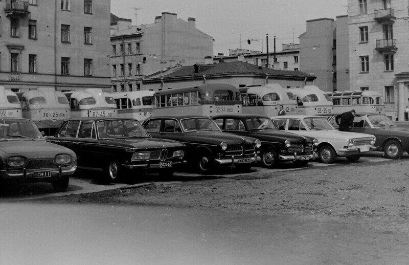Фотопрогулка по Ленинграду 1965 года