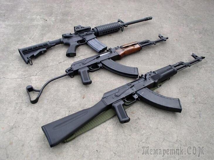 АК-47 признан лучшим стрелковым оружием