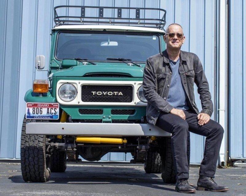 Доработанный Toyota Land Cruiser 1980 года Тома Хэнкса отправляется на аукцион