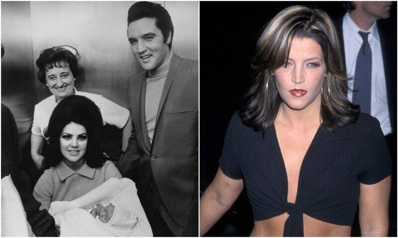 Как менялась дочь Элвиса Пресли с годами
