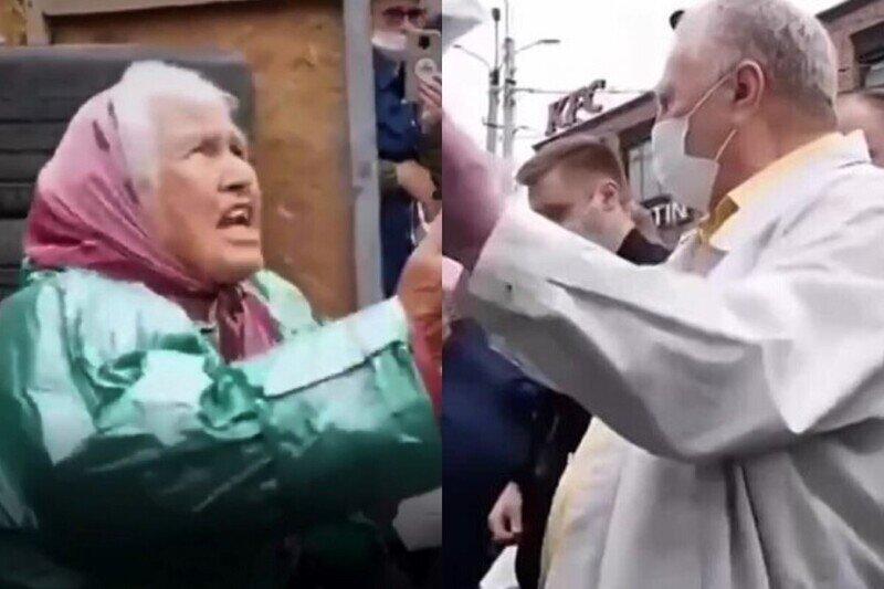 """""""Это показуха!"""": бабушка из Истры отчитала Жириновского и не взяла предложенные ей деньги"""