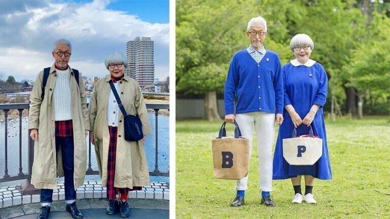 60-летние Бон и Пон, которые подходят друг другу идеально
