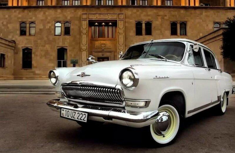 ГАЗ-21 «Волга» — самый любимый советский автомобиль
