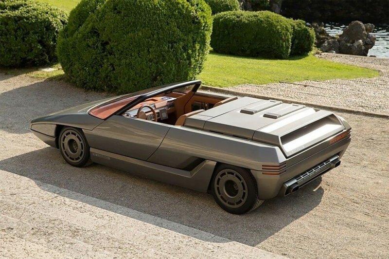 Lamborghini Athon — удивительный, но забытый концепт-кар 1980 года