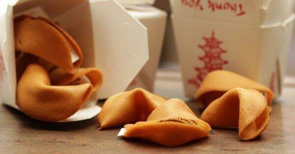 Китайские печенюшки с предсказаниями