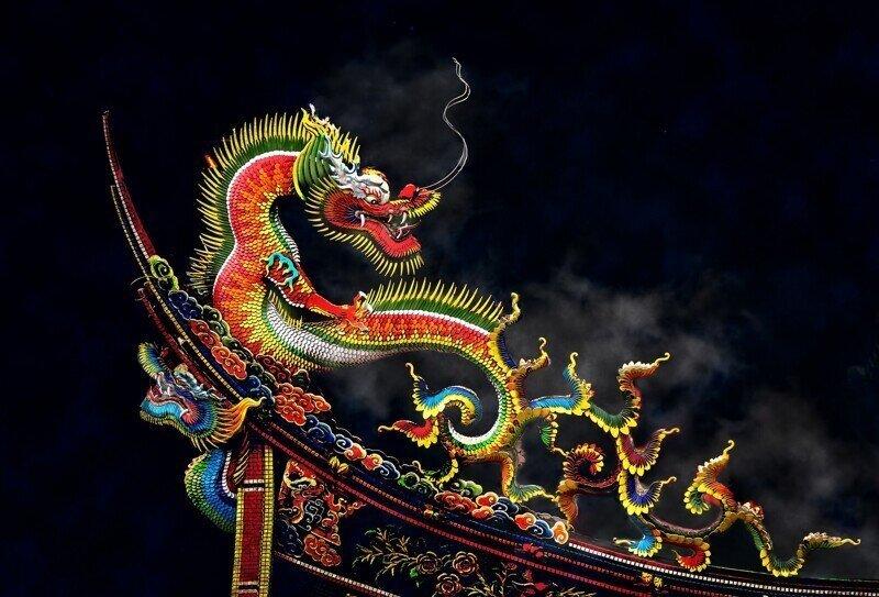 О том, как Ча превратился в дракона