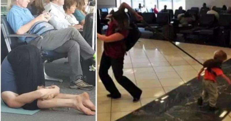 18 сумасшедших вещей, которые не ожидаешь встретить в аэропорту