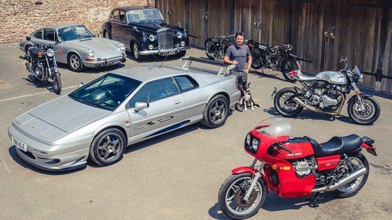 Ричард Хаммонд решил продать некоторые из своих классических автомобилей и мотоциклов