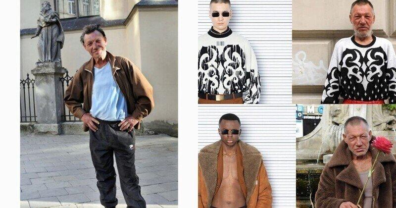 Украинский фотограф обвинил модный бренд в плагиате, заявив, что дизайнеры воруют идеи у бомжа