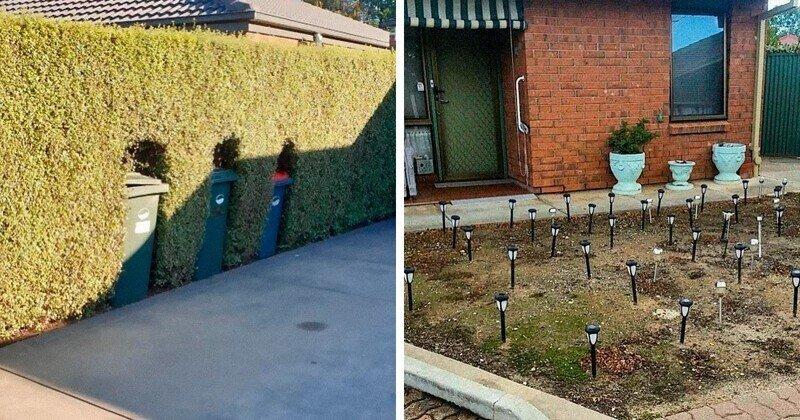 Самые дурацкие идеи для сада