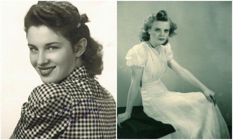 Стиль женщин 40-х годов: винтажные фото