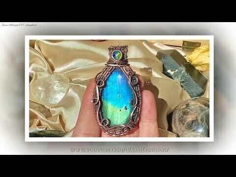 Благородные драгоценные камни и искусство обрамления проволокой