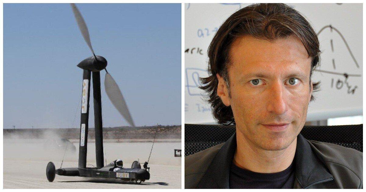 Машина, что быстрее ветра: профессор физики Кусенко проспорил блогеру 10 000 долларов