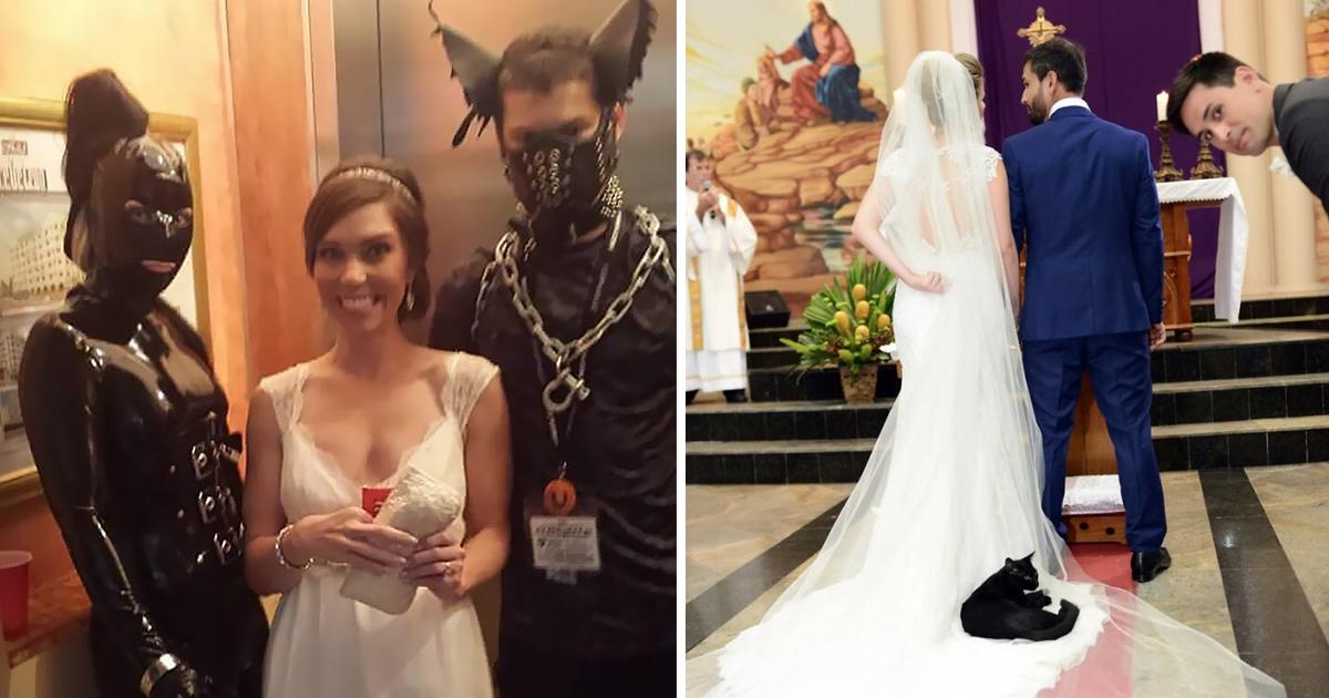 35 смешных моментов со свадеб, которые сделали праздник только лучше