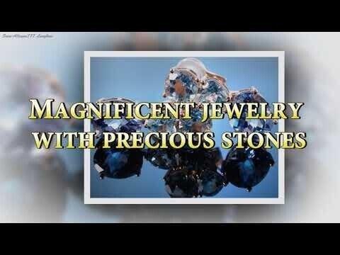 Великолепные украшения с драгоценными камнями