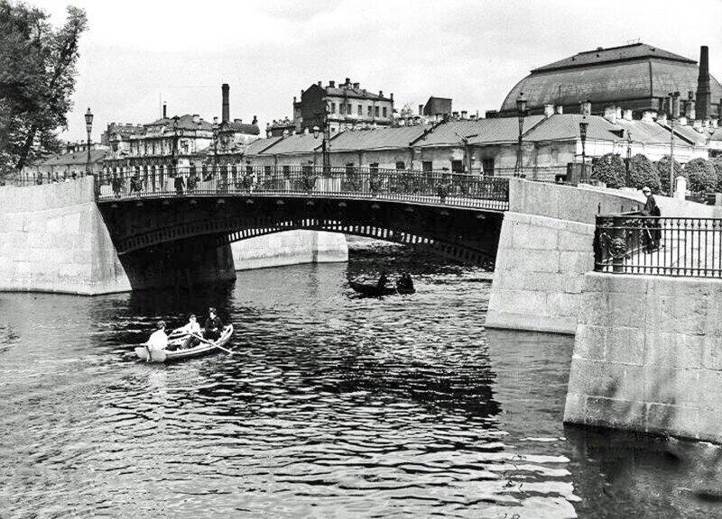 Набережные Мойки. Старый Петербург