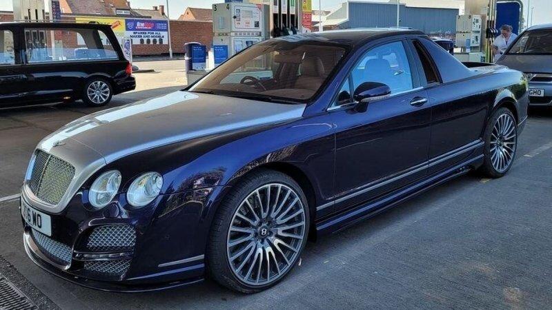 Британцы превратили Bentley Flying Spur в роскошный пикап