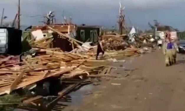 Ураган, пронёсшийся над просторами Тверской земли, оставил людей без крова