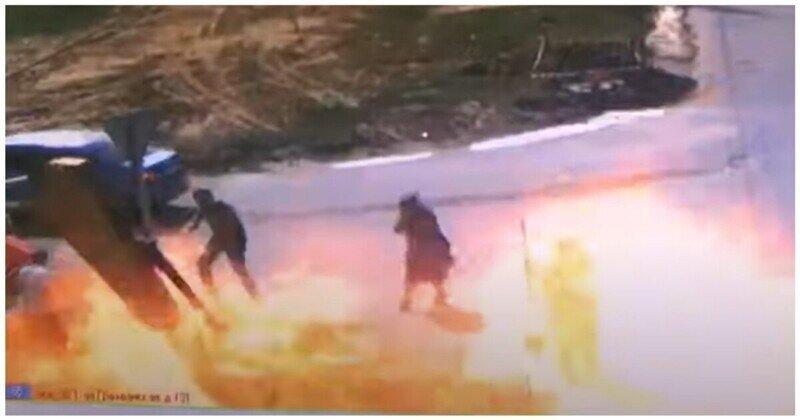 В Чебоксарах рабочие повредили газопровод и получили ожоги