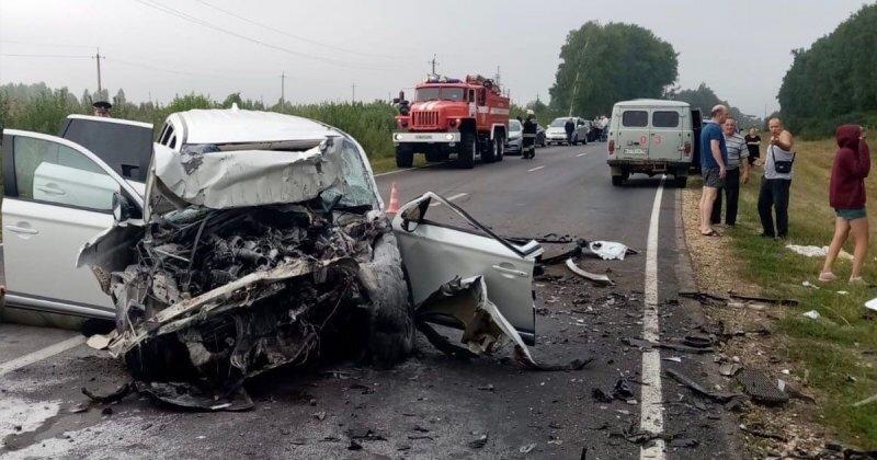 Авария дня. Страшное лобовое столкновение в Нижегородской области