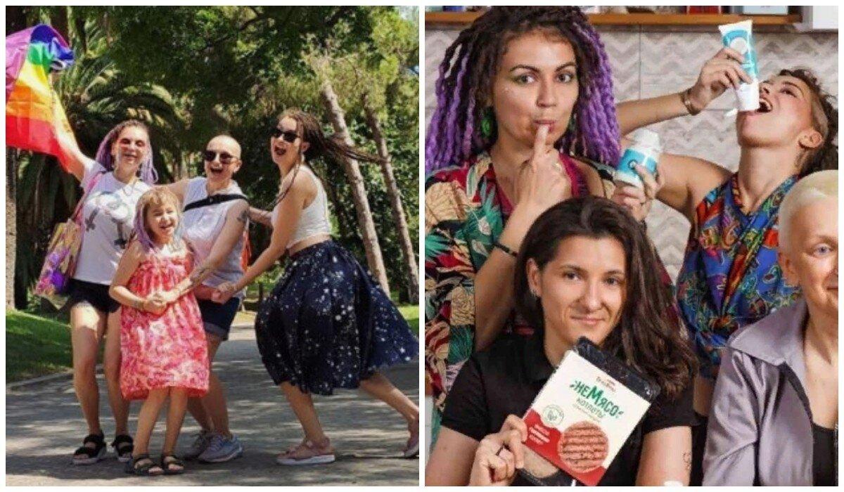"""Однополая семья из рекламы """"ВкусВилл"""" лишилась всего и уехала из России"""