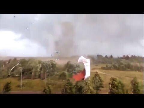 Ураган и торнадо в Тверской области