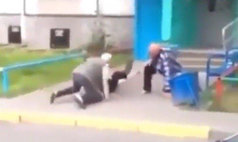 Тем временем где-то в России: старики-разбойники - неизвестный дубль