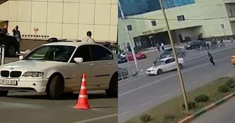 Как не нужно переходить дорогу с детьми: водитель сбил двух маленьких пешеходов в Москве