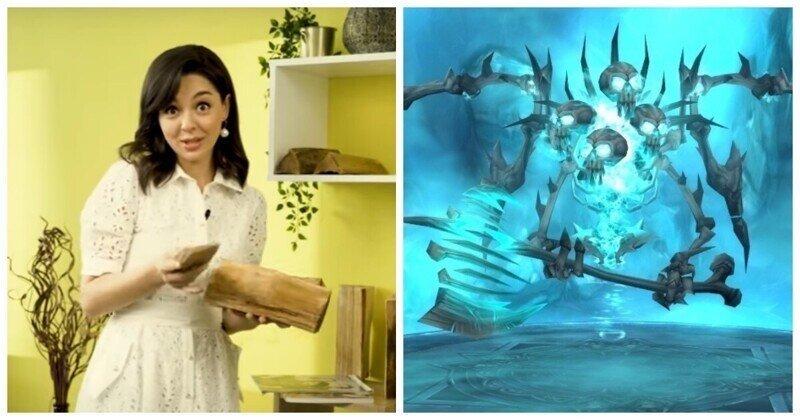 Марина Кравец из Comedy Club подсказала фанатам Warcraft, как пройти босса и получить достижение
