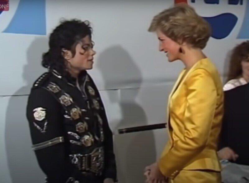 Майкл Джексон и принцесса Диана