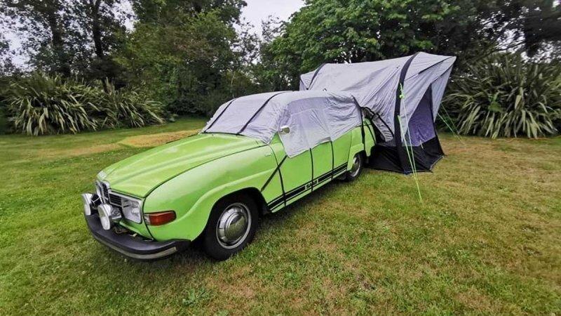 Кемпер на базе Saab 1975: вот что происходит, когда автомобильная классика получает любовь и внимание