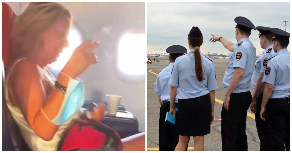 Красиво жить не запретишь: российская туристка закурила на борту самолета